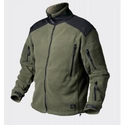 Fliis jakk Liberty Oliivroheline/must