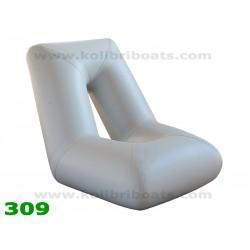 Täispuhutav iste seljatoega