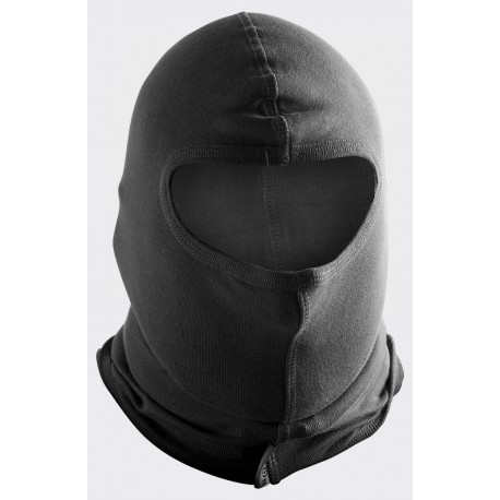 Balaclava mask, puuvillane, must